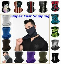 Bandana Face Mask Shield Headwear Neck Gaiter Cover Washable Reusable Breathable