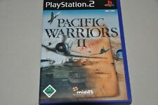 PLAYSTATION 2 gioco-PACIFIC WARRIORS II dogfight-TEDESCO COMPLETO ps2