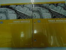 2011 Harley Davidson TRIKE FLHTCUTG TRI GLIDE Service Shop Manual & Parts Catalo