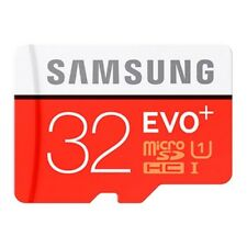 SAMSUNG EVO  PLUS 32 GB  MIT ADAPTER SD MICRO UHS1 100% Original