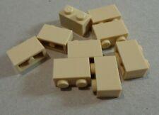 LEGO3004 -4109995 1x2 Bricks Tan x9 Parts & Pieces **