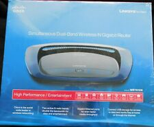 NEW Linksys Simultaneous Duel-Band Wireless-N Gigabit Router in Factory sealed