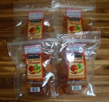 4 NEW Bags Trader Joe's Chile Spiced Mango Dried Fruit 2lbs! Spicy Spice Spicey