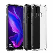 CLEAR SHOCKPROOF TRANSPARENT SLIM CASE COVER FOR HUAWEI P30 LITE