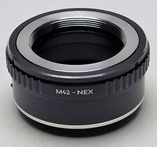 M42 Lens to Sony E adapter NEX 3 NEX 5 NEX 6 NEX 7