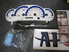 2000-2003 Metric in Kilometers KPH Pontiac Sunfire White Face Glow Gauges 180MPH