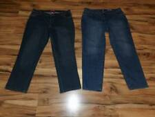 womans misses Woman Within & Just my size JMS jeans lot size 20 20W pants