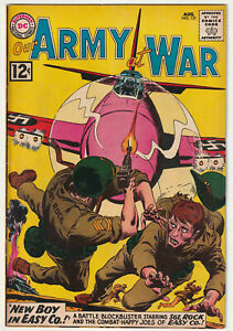 Our Army at War #121 Fine- 5.5 Nice DC War Comic Book Complete Sgt. Rock