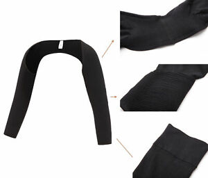 Women Upper Arm Shaper Compression Posture Corrector Tops Arms Shapewear Sleeves