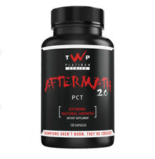 TWP Nutrition Aftermath 2.0 PCT Testosterone booster  Extreme Natural Growth