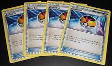 4x Level Ball 76/98 XY Ancient Origins MINT Pokemon Card