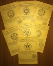 Set 7 Scrolls Archangels - The Power of the Heavenly Forces