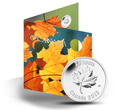 CANADA 2013 O CANADA  5 COIN GIFT SET MAPLE LEAF SPECIAL 25 CENTS