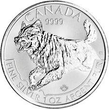 2018 Canada Silver Wolf 1 oz $5 BU
