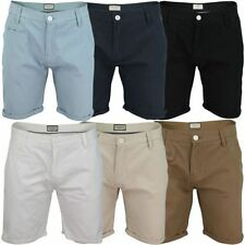 """Brave Soul Mid 7 to 13"""" Inseam Chinos, Khakis Shorts for Men"""