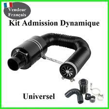 Kit Admission Dynamique Direct Universel Boite a Air Carbone Filtre,Racing,Sport