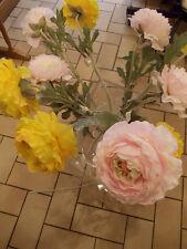 SIA fleurs artificielles : Tige de RENONCULE jaune