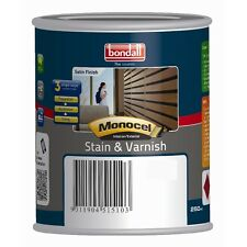Bondall Monocel 250ml Black Satin Stain And Varnish