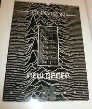 NEW ORDER  1986 Calendar Kalender Calendario Calendrier JOY DIVISION Blue Monday