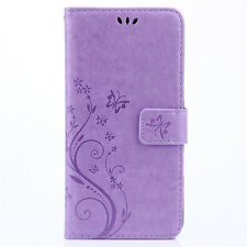 Luxury PU Leather Magnetic Flip Stand Card Slot Wallet Case Cover For LG Models