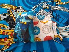 Lego Ninjago twin size Blanket, Sheet, and Pillow set