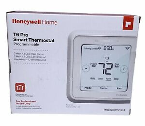 Honeywell TH6320WF2003 T6 Pro Wi-Fi Programmable Smart Thermostat NIB