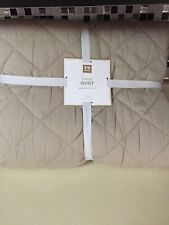 Sc Pottery Barn Teen Solid Finley Quilt - Twin - Khaki New!