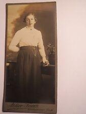 Pfaffenhofen a. Ilm - stehende Frau in Rock und Bluse - Portrait / CDV