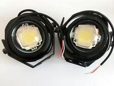 2X 10W CREE LED WORK LIGHT SPOT OFFROAD FOG LAMP JEEP MOTORCYCLE 4WD SUV ATV BLA