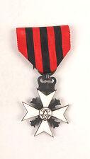 Belgian Merit Medal Decoration Order Cross