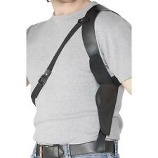 Leather Look Gun Shoulder Holster Fancy Dress Up Accessory Adults Cop Holder