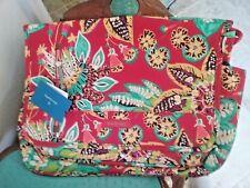 NWT Vera Bradley Laptop Messenger Bag - Rumba