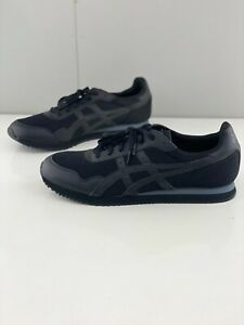 Asics Tiger Runner Men's Casual Sneaker Shoes  Brand New Black Size US15