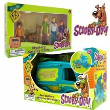 New Scooby Doo Goo Buster Mystery Machine & Mystery Solving 5 Crew Figures Pack