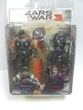 NECA Gears of War 3 Exclusive Action Figure 2 Pack Marcus Fenix Locust Grunt MIP