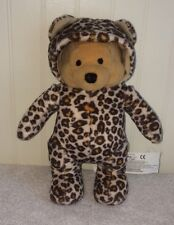 """Disney Winnie the Pooh Plush Cheetah Costume Suit Outfit Stuffed Toy 8"""""""