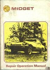MG Midget 1500 1975 Original Factory Workshop Manual