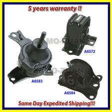 fits: 2000-2002 Honda Accord 2.3L Engine Motor & Trans. Mount Set 3PCS for Auto