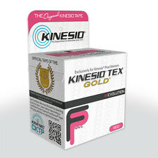 Kinesio Tape Tex Gold 5cm x 5m - Red - Sports Injury Knee/Wrist/Back/Foot
