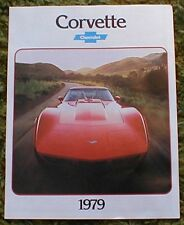 1979 Chevrolet Corvette Catalog Brochure 79