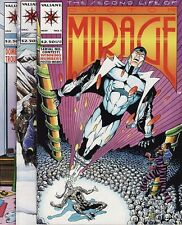 THE SECOND LIFE OF DOCTOR MIRAGE #1,2,3 & 4 Valiant Comics Magnus Bloodshot SET!