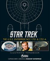 HERO COLLECTOR Star Trek Enterprise NCC 1701 & NCC 1701 A Illustrated Handbook