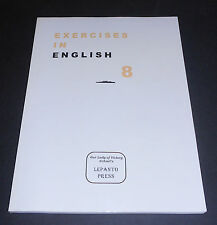 Exercises in English (Lepanto Press) Reprint of 1959 Book for Voyages in English