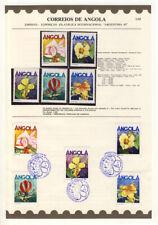 ANGOLA - ETB 3/85 mit Nr. 723-727 - BLUMEN ESSt. und xx (13747/569N)