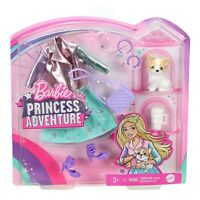 Barbie Princess Adventure FASHION PACK Pet Puppy, Stylish Princess Look!