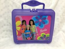 Vintage Barbie Purple Lunch Box with Thermos BARBIE AND FRIENDS COLOR ME BARBIE