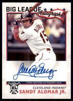 2020 Big League Auto #BLA-SA Sandy Alomar Jr. - Cleveland Indians