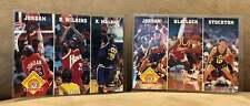 (2) 1993-94 NBA Hoops Michael Jordan League Leaders Lot Chicago Bulls NBA