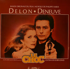 "OST - SOUNDTRACK - LE CHOC - PHILIPPE SARDE 12"" LP (N142)"