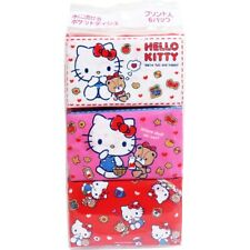 JAPAN HELLO KITTY SANRIO MINI HYGIENIC POCKET TISSUE PAPER(6pcs)